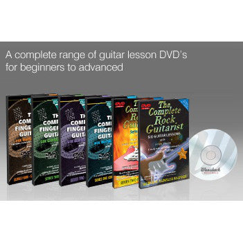 Learn To Play Guitar DVDs by Wansbeck - Rock Guitarist Series & Fingerstyle Guitarist Series