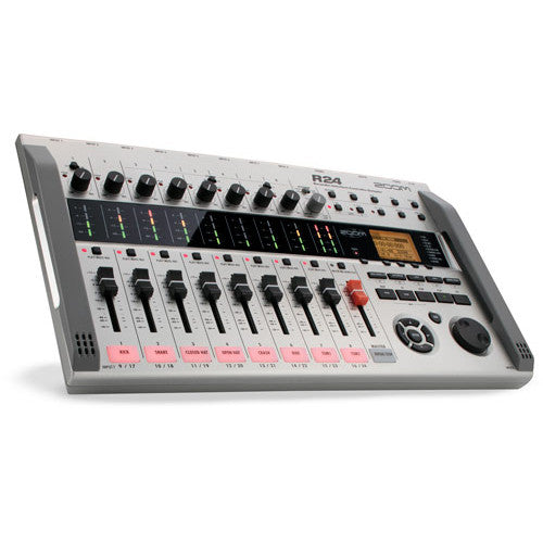 Zoom R24 24-Track Digital Recorder - Recorder-Interface-Controller-Sampler