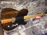 Fender American Exotic Limited Edition Malaysian Blackwood Telecaster