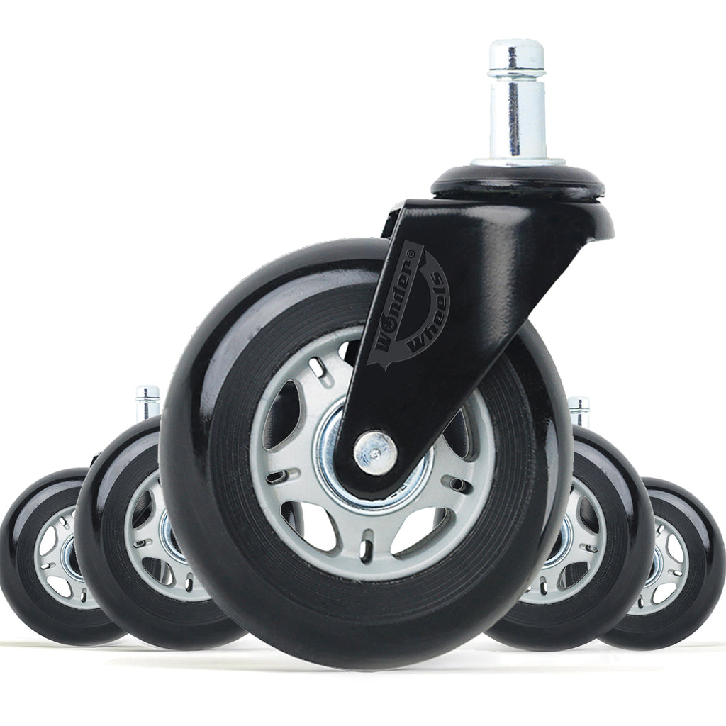 wonder wheels office chair wheels replacement rubber chair casters