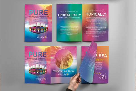 PURE Essential Oil Handbook (10 Handbooks in a pack)