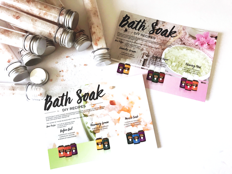 DIY Bath Soak Set