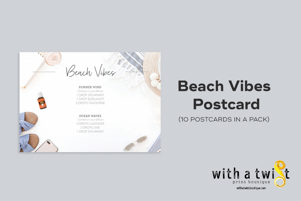 POSTCARDS: Beach Vibes