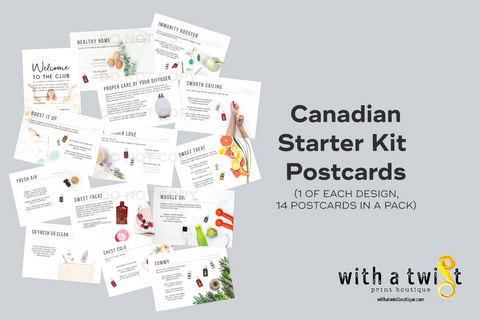 Postcards: Premium Starter Kit - Canada
