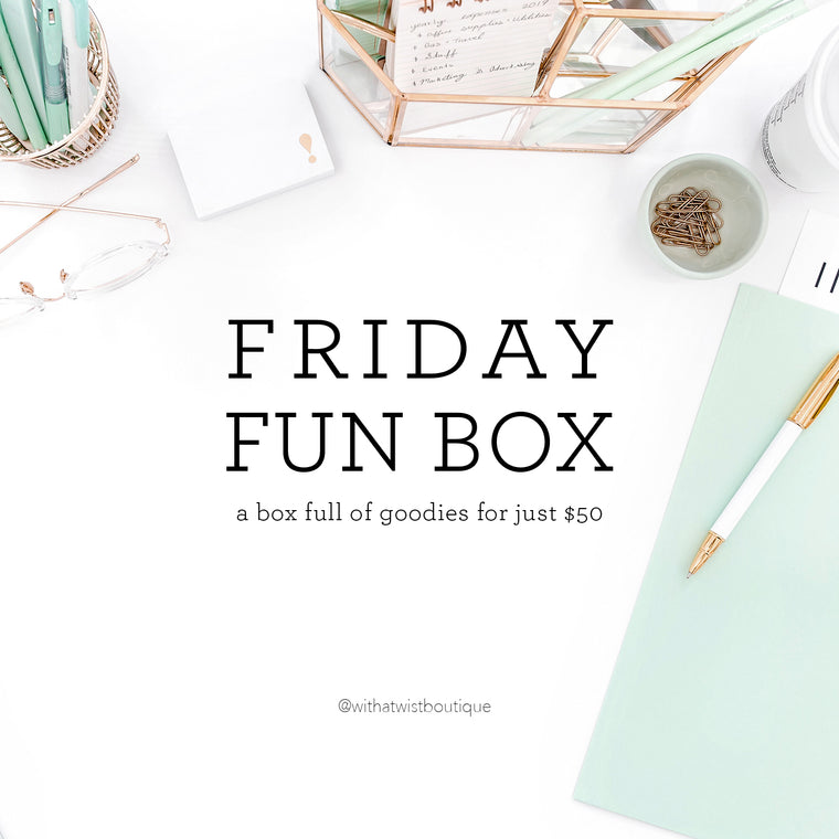 FRIDAY FUN BOX
