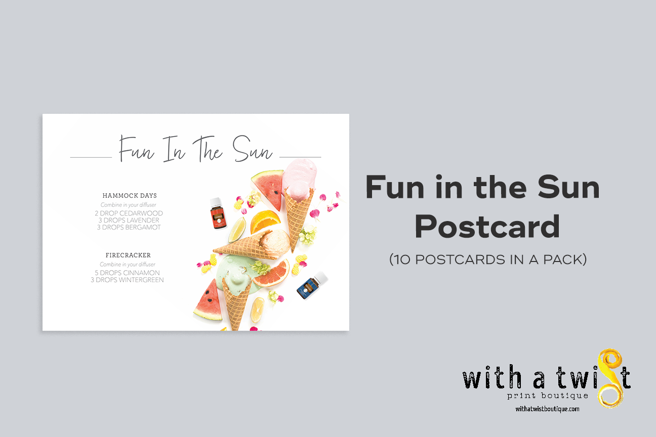 POSTCARDS: Fun in the Sun