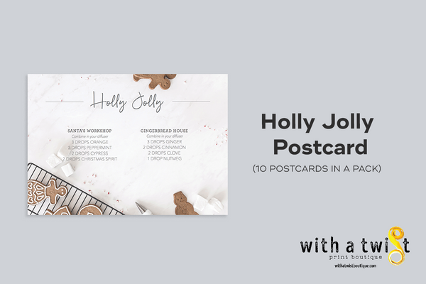 POSTCARDS: Holly Jolly