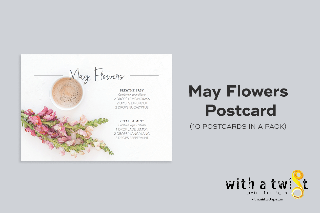 POSTCARDS: May Flowers