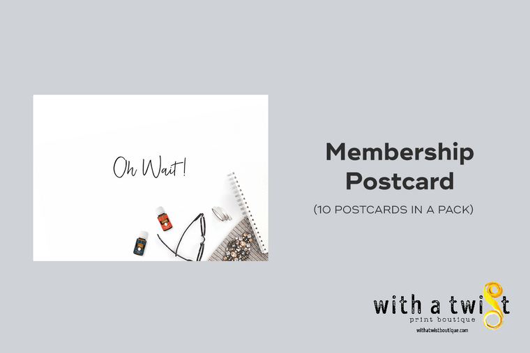 Postcards: Oh No! Inactive - 10 in a pack