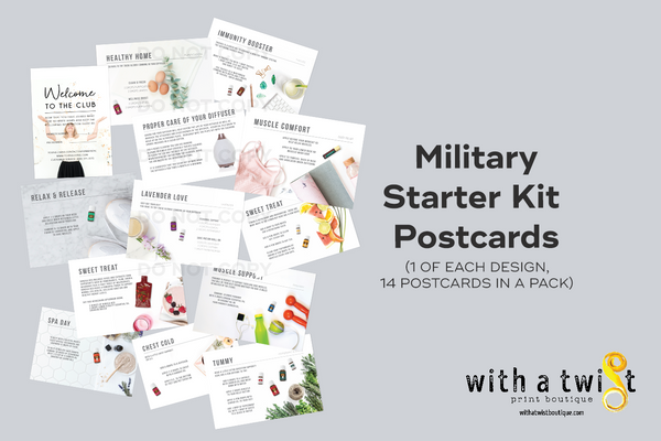 Postcards: Premium Starter Kit - Military Kits