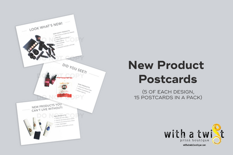Post card: 2018 New Products