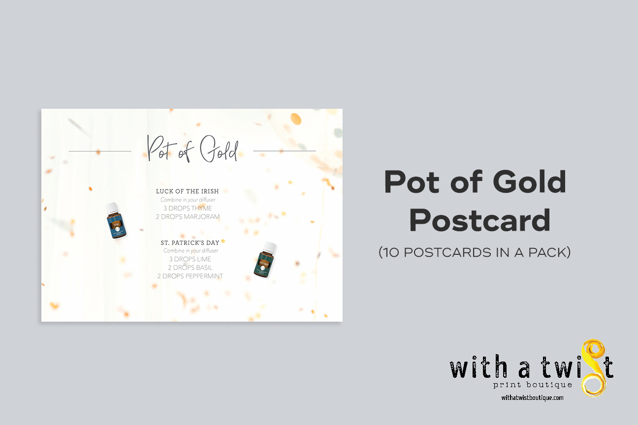 POSTCARDS: Pot Of Gold