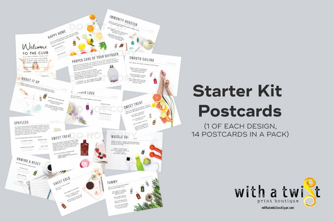Post cards: Premium Starter Kit - 14 in a pack