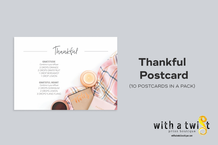 POSTCARDS: Thankful