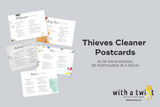 POSTCARDS: Thieves Cleaning