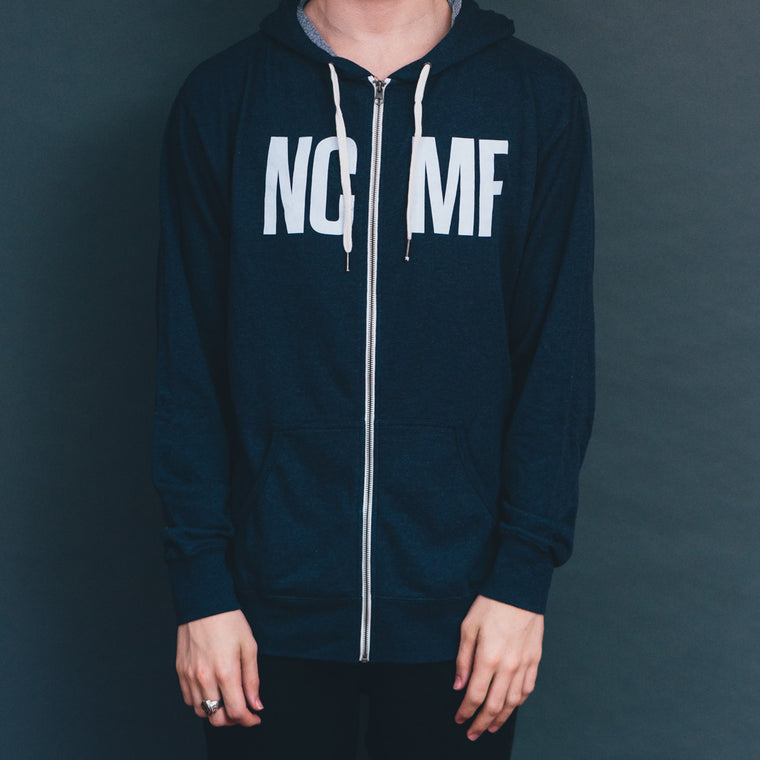 NCMF 2014 Five Year Anniversary Signature Zip Hoodie