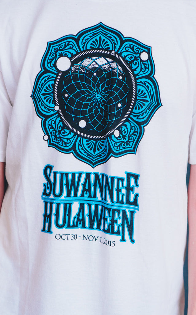 Hulaween 2015 Band Listing Shirt, White