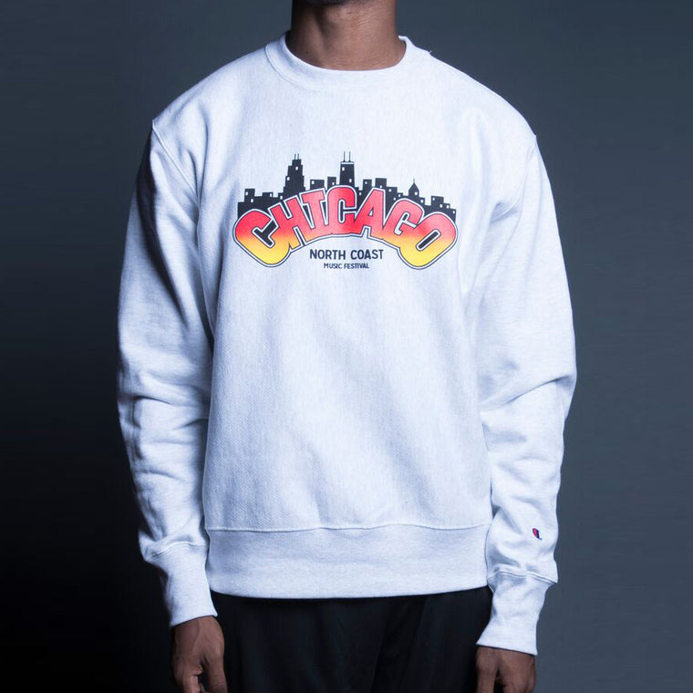 NCMF 2017 Chicago Skyline Stitchgawd Crewneck