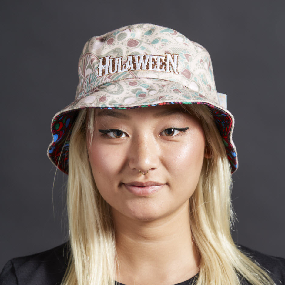 Hulaween 2016 GRC Reversible Bucket Hat