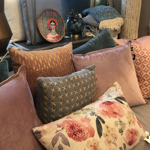 cushions and home decor at Enhance by Design