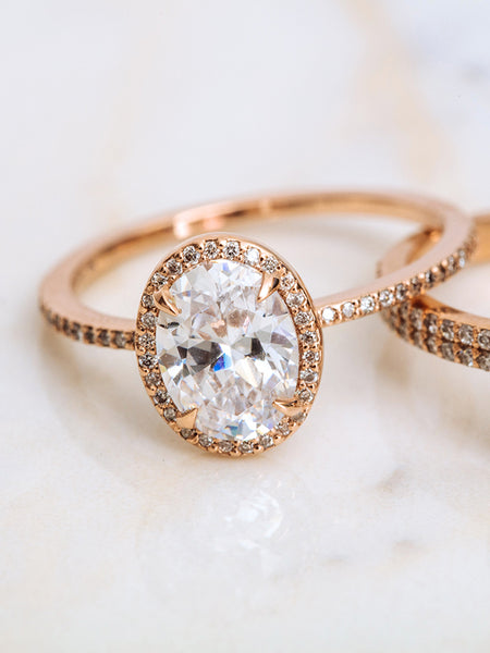 The Valentina Ring- Oval