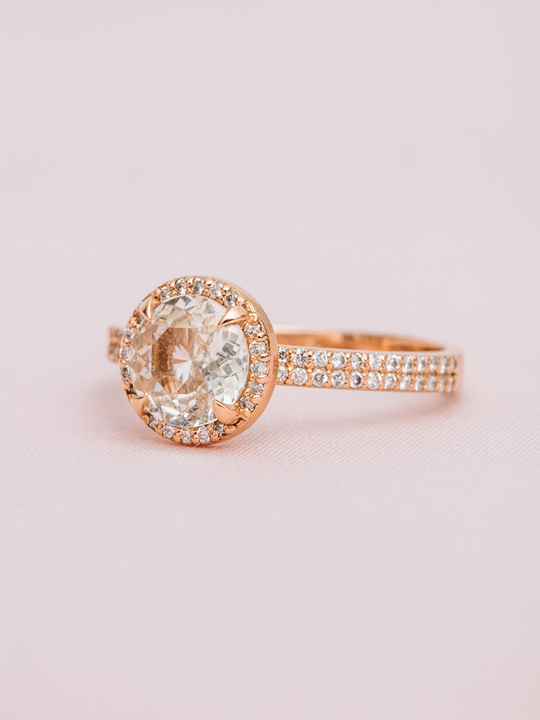 The Elodie Ring- Round