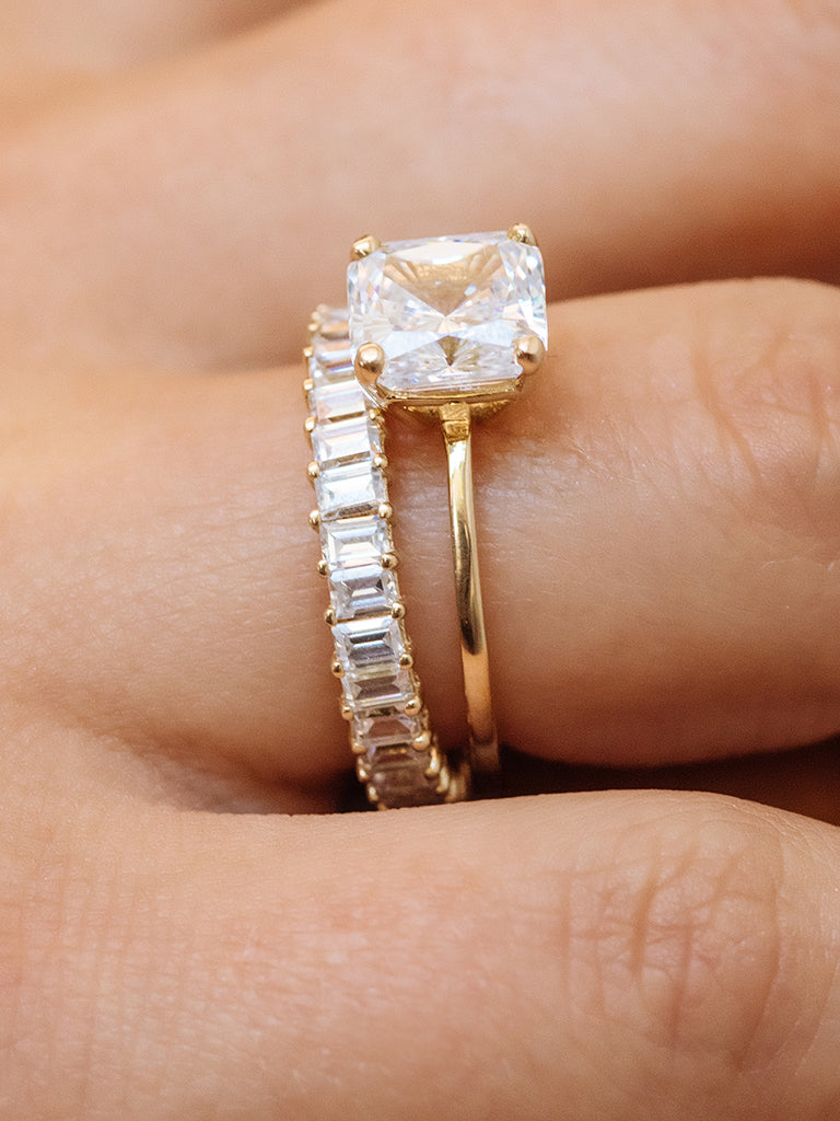 The Balliér Ring- Emerald Cut