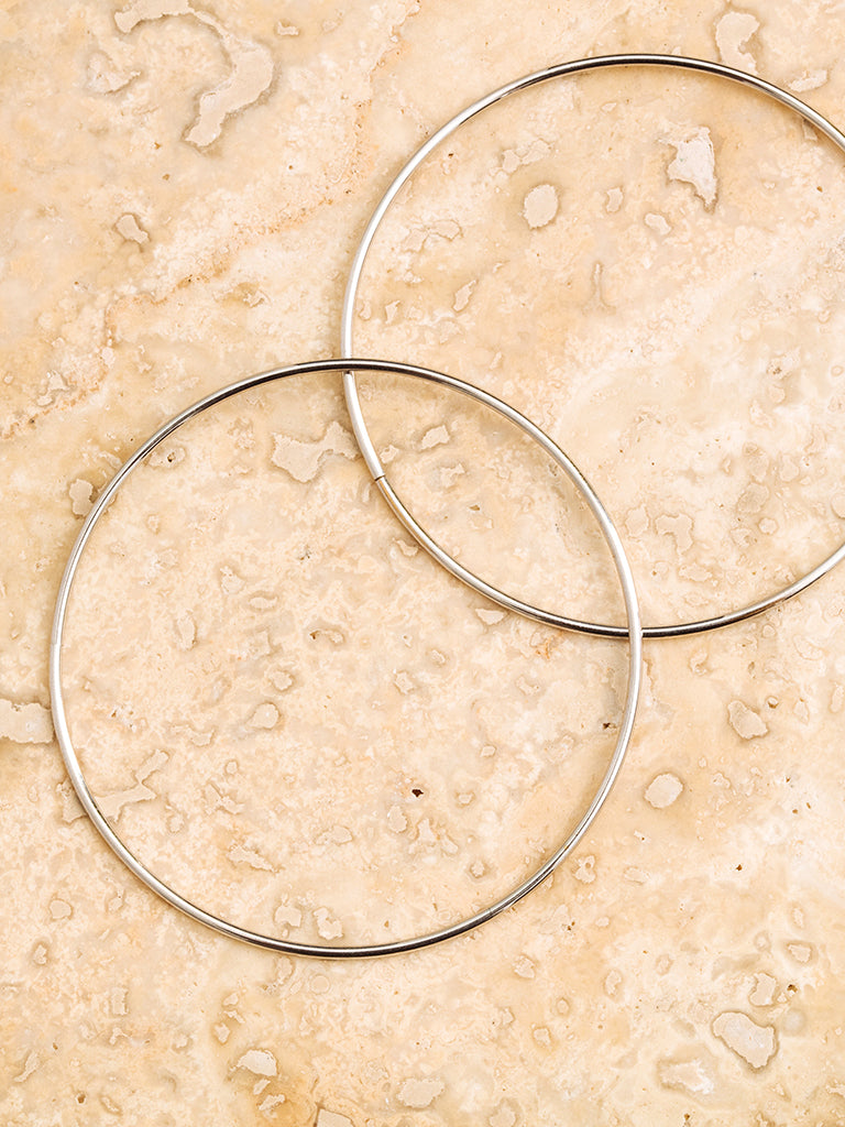The XL Wire Hoops