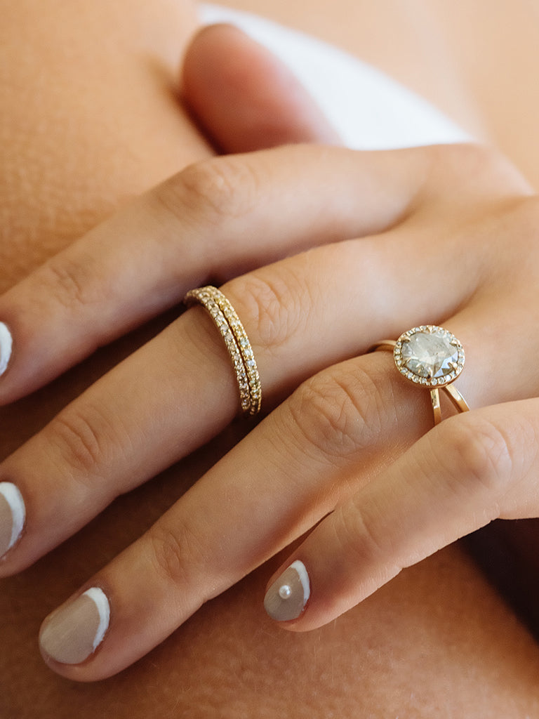 The Cleo Ring Setting (Round)