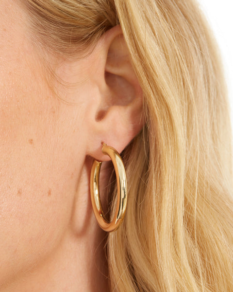 The Amalfi Hoops- 34mm