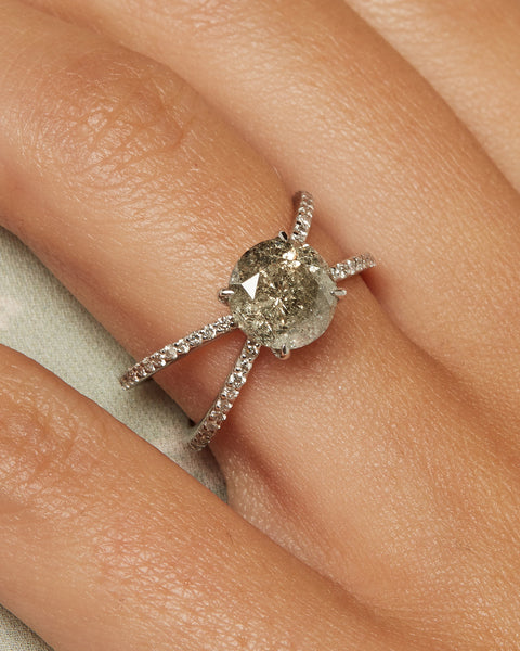 The Isabella Ring Setting (Pave)