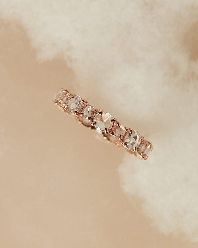 The Rose Cut Eternity Band