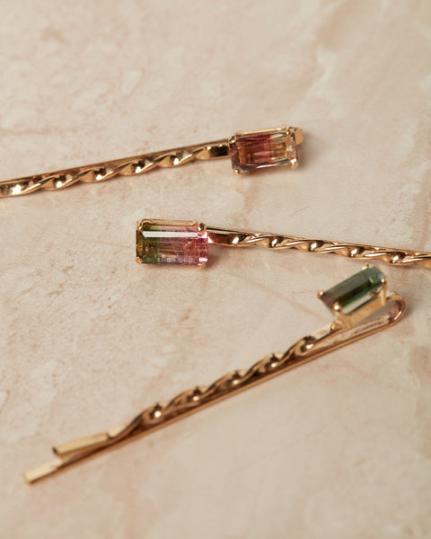 The Tourmaline Bobby Pins [SAMPLE SALE]