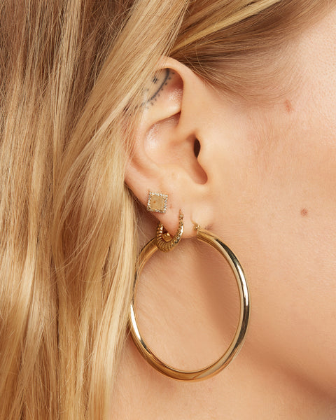 The Grande Amalfi Hoops- 50mm