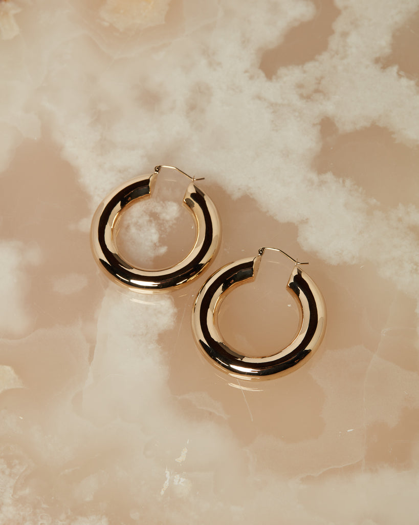 The Baby Amalfi Hoops