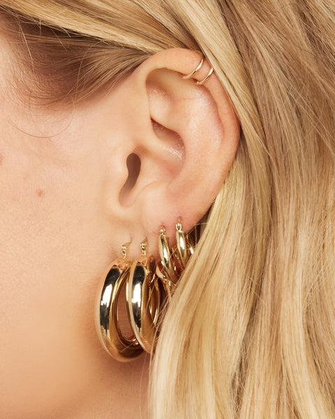 The Grande Baby Amalfi Hoops