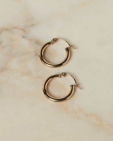 The Mini Lucca Hoops