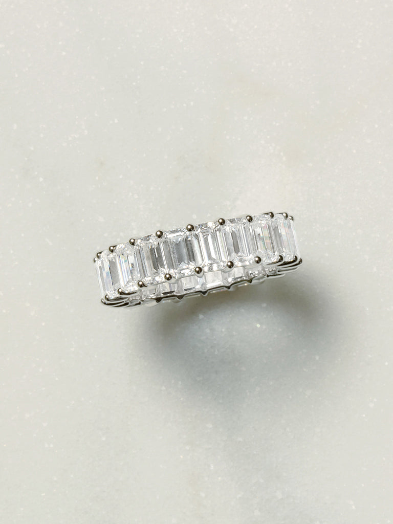 The Ballier Ring- Emerald-Cut 3x5 mm