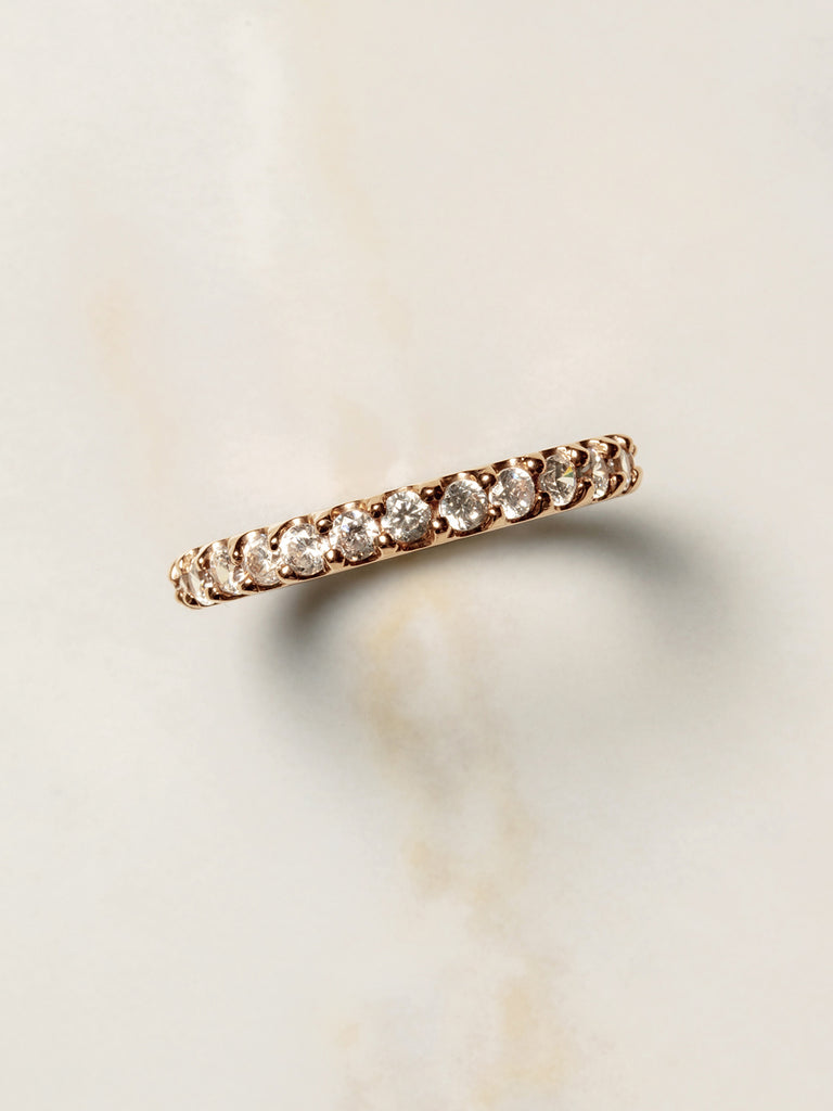 The Ballier Ring- Round Cut 2 mm