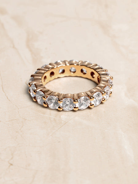 The Ballier Ring- Round Cut 4 mm