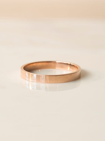 The Luca Ring- 3mm