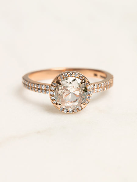 The Elodie Ring Setting (Round) [SAMPLE SALE]
