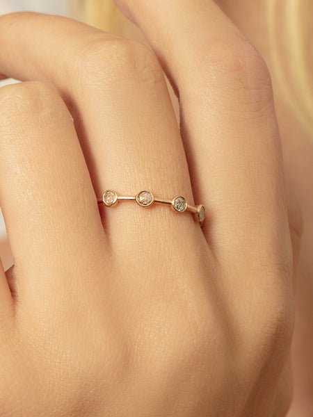 The Rose Cut Constellation Ring