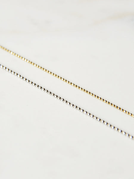 The Ball Chain Necklace [SAMPLE SALE]