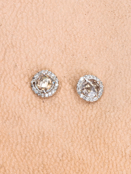 The Rose Cut Studs [SAMPLE SALE]