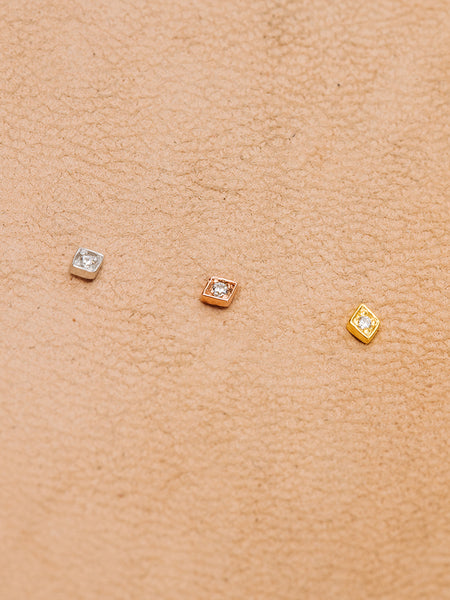 The Diamond Kite Studs
