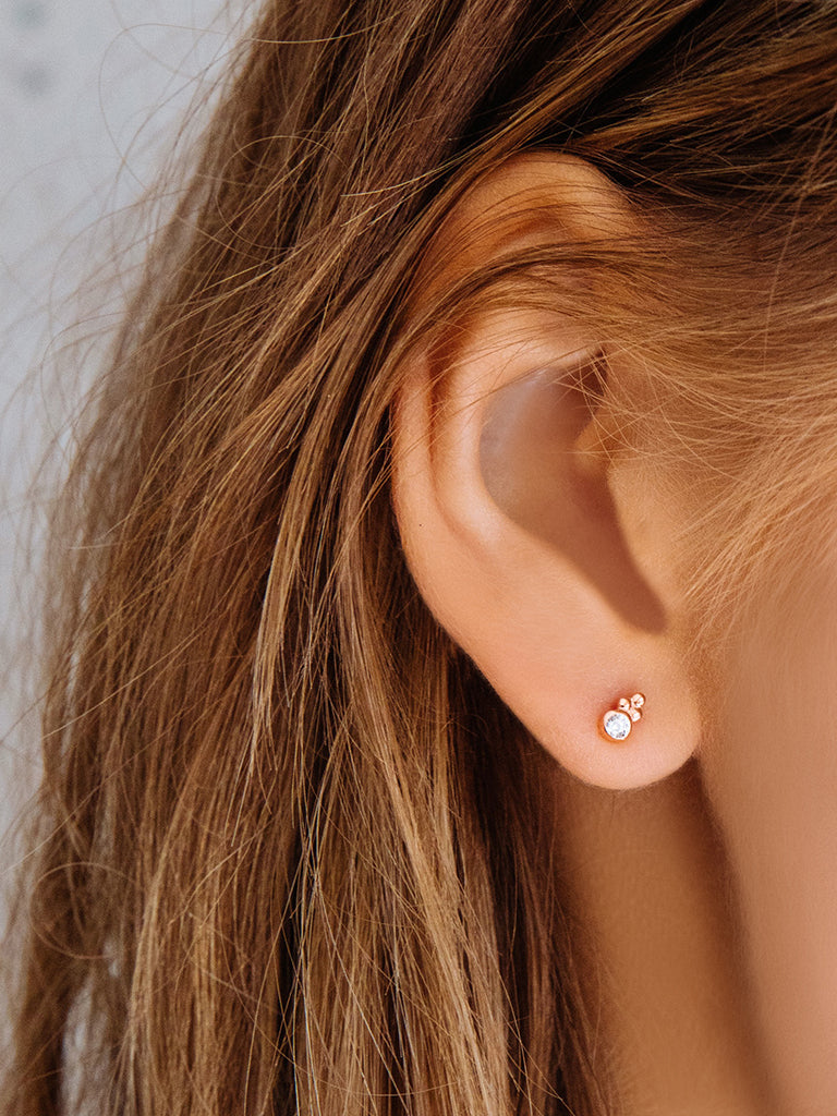 The Moroccan Diamond Studs
