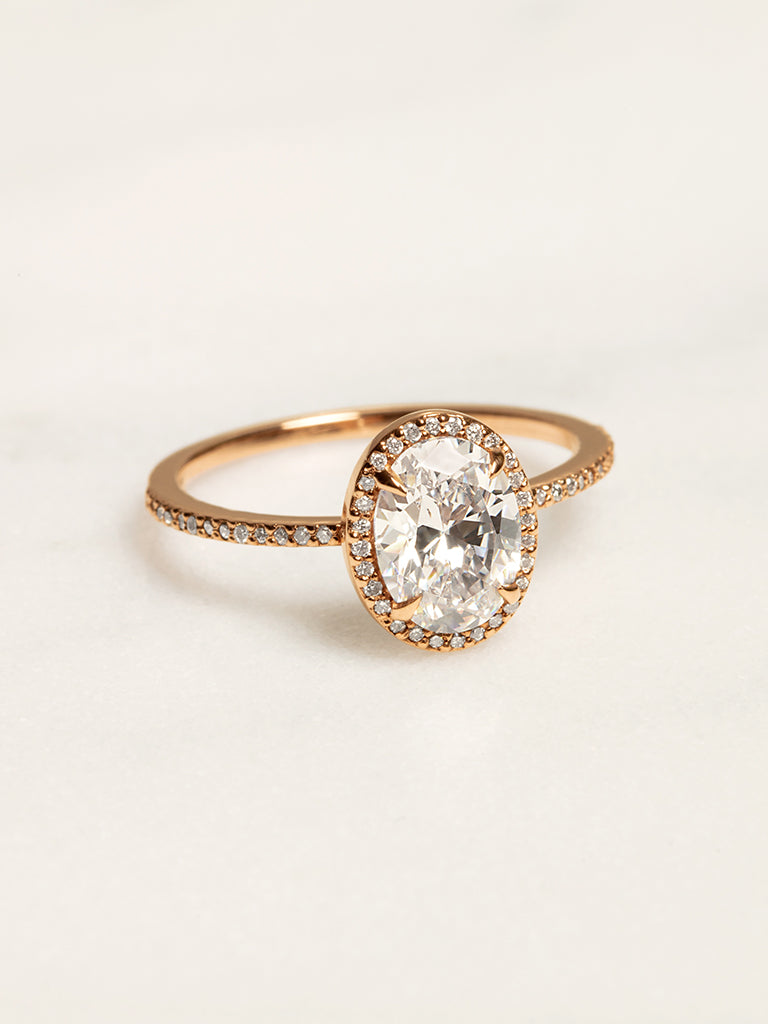 The Valentina Ring Setting (Oval)