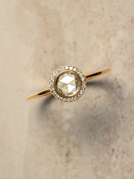 The Rose Cut Halo Ring [SAMPLE SALE]