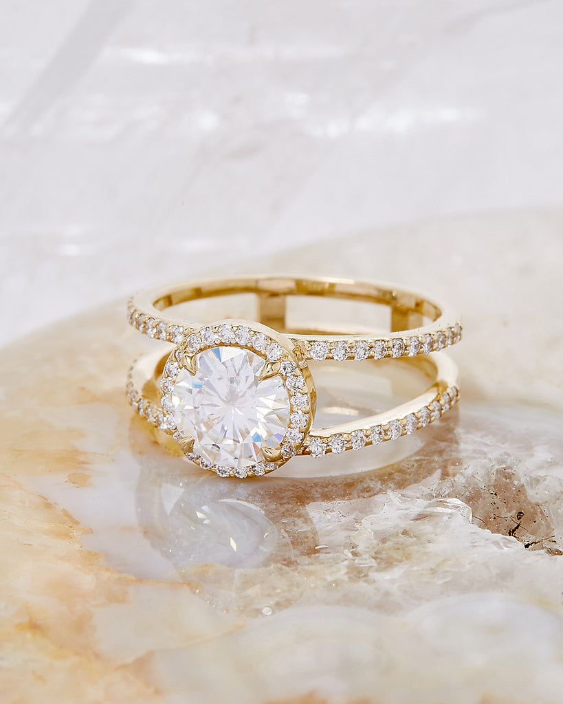 The Beatrix Ring Setting (Round Cut)